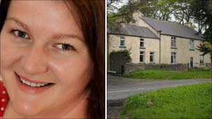 Louise Northwood and her Co Durham home