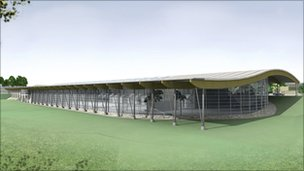 Bbc news farrans wins contract to build 38m olympic - Bangor swimming pool northern ireland ...