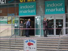 A deep cleaning operation has been going on since Tuesday at the Indoor Market