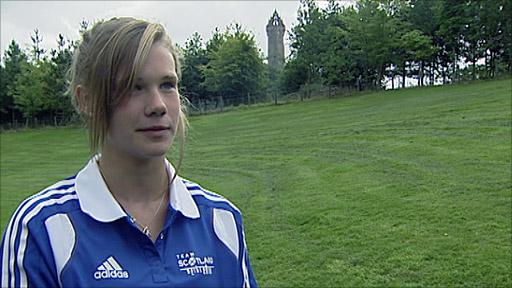 Scottish diver Grace Reid