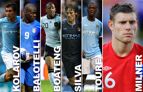 Manchester City's summer signings
