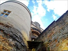 Nottingham Castle gatehouse. Photo by Duncan Harris