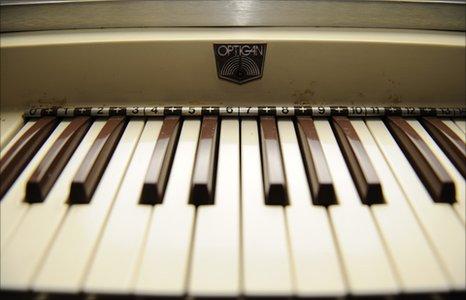 Optigan keyboard