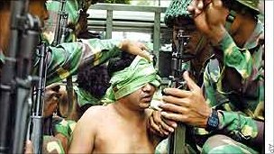 Suspected criminal in Bangladesh arrested by the army