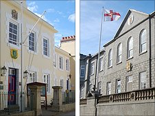 Alderney and Guernsey States buildings