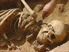 4th Century skeleton found at Caistor St Edmund, Norfolk