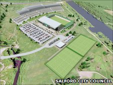 Salford City Reds Stadium Plans