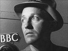 Bing Crosby was in the country entertaining the troops
