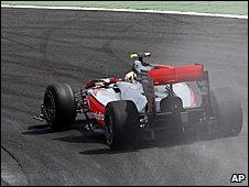 McLaren driver Lewis Hamilton