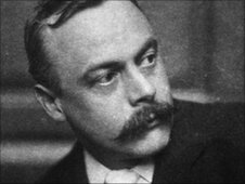 Kenneth Grahame (1859 - 1932) author of the famous children's classic 'The Wind in the Willows'