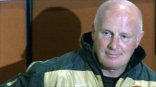 Dundee Utd manager Peter Houston