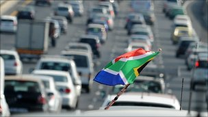 South Africa traffic