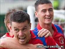 Ian Harte and Gary Madine