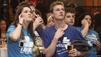 Members of the Australian Liberal Party follow the results of the Australian federal election in Sydney, 21 August 2010