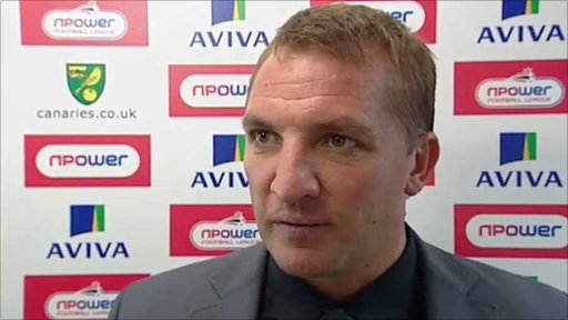 Swansea City boss Brendan Rodgers