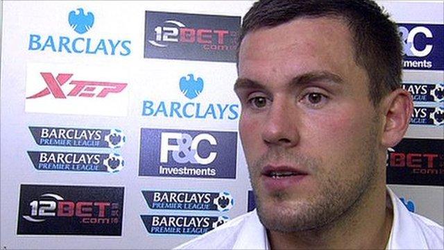 Birmingham goalkeeper Ben Foster