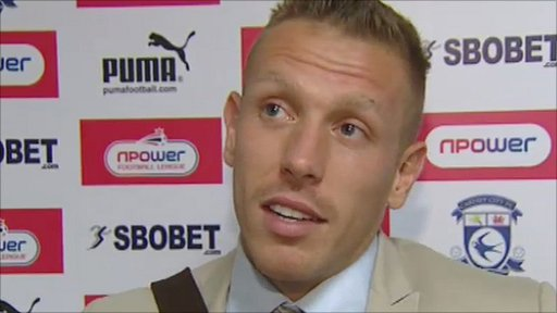 Cardiff City captain Craig Bellamy