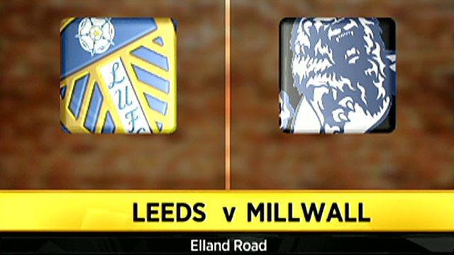 Leeds 3-1 Millwall