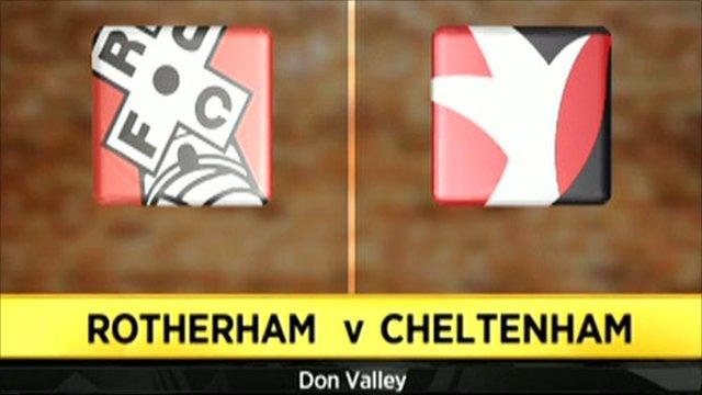 Rotherham 6-4 Cheltenham