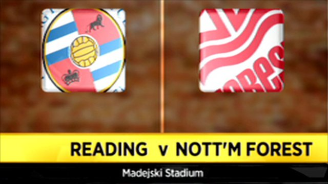 Reading vs. Nottingham Forest