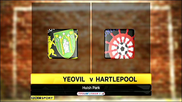 Highlights - Yeovil 0-2 Hartlepool
