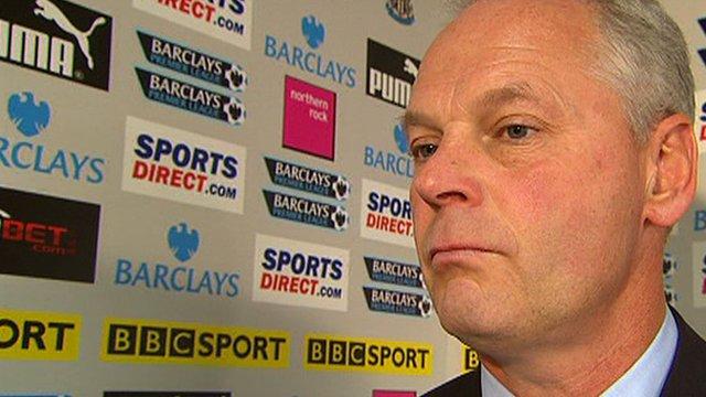 Aston Villa's caretaker manager Kevin MacDonald