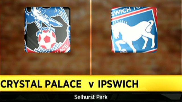 Crystal Palace 1-2 Ipswich
