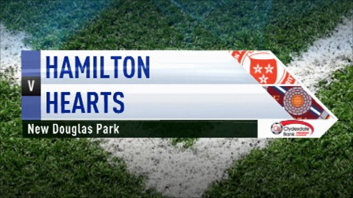 Highlights - Hamilton 0-4 Hearts