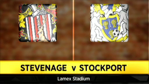 Stevenage 3 - 1 Stockport