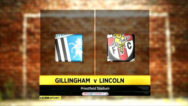 Gillingham 0-1 Lincoln City