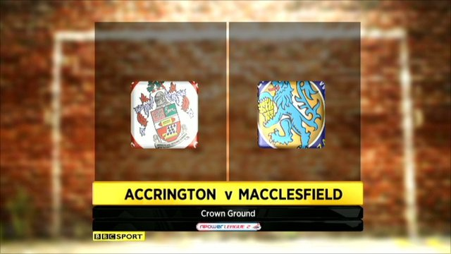 Accrington Stanley 3-0 Macclesfield