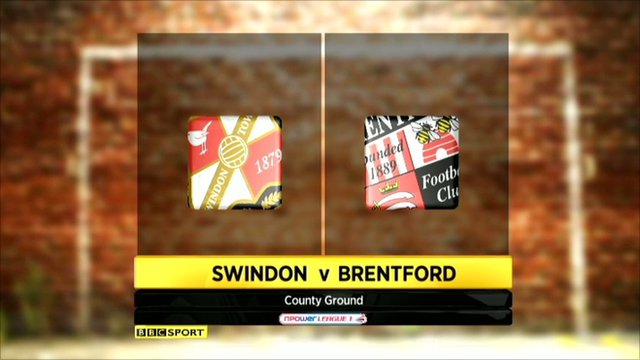 Swindon 1-1 Brentford