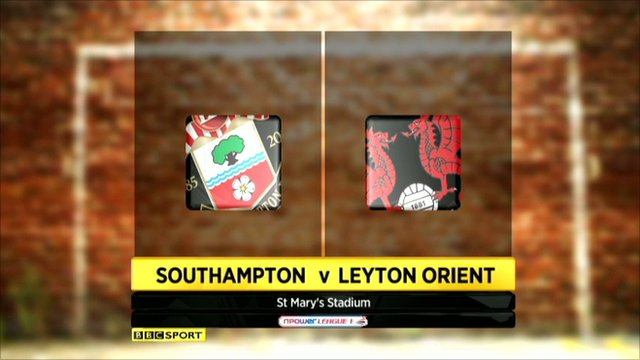 Southampton 1-1 Leyton Orient