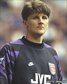 Former Arsenal goalkeeper John Lukic