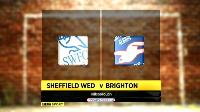 Sheff Wed 1-0 Brighton