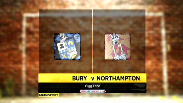 Bury 1-1 Northampton