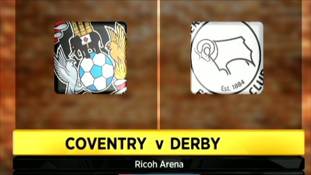 Coventry and Derby club badges