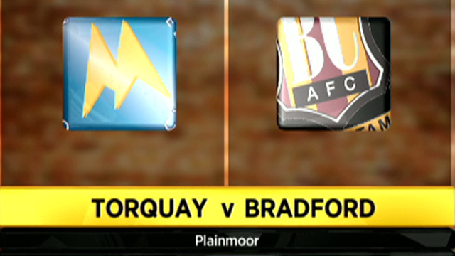 Torquay 2-0 Bradford