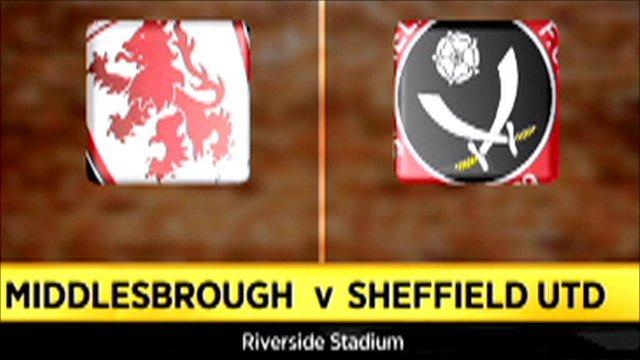 Middlesbrough 1 - 0 Sheffield Utd