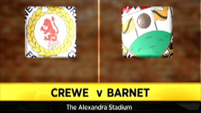 Crewe 7 - 0 Barnet