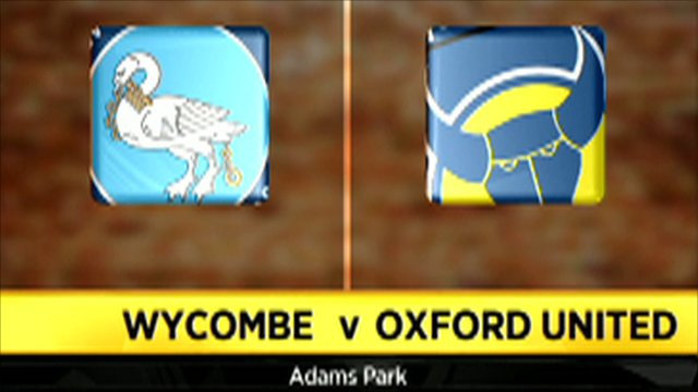 Wycombe 0 - 0 Oxford