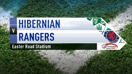 Hibernian 0-3 Rangers