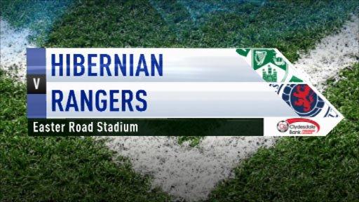 Hibernian 0-3 Rangers