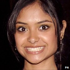 Harry Potter actress Afshan Azad, pictured in 2005