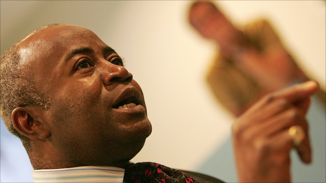 Courtenay Griffiths defending Charles Taylor at The Hague