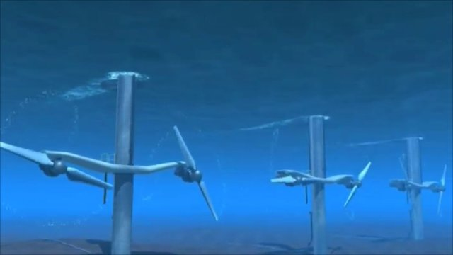 Picture from company video featuring how turbines would look