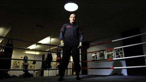 European super-middleweight champion Brian Magee