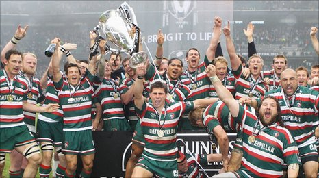Premiership champions Leicester Tigers