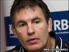Sale Sharks coach Mike Brewer