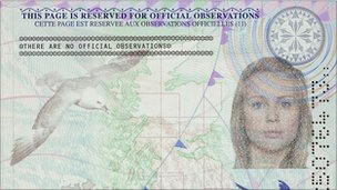 enhanced security features in the new UK passport